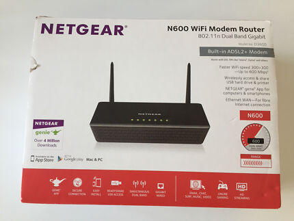 NETGEAR N600 WiFi Modem Router Darling Point Eastern Suburbs Preview