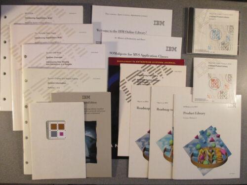 IBM Various Vintage MVS Publications