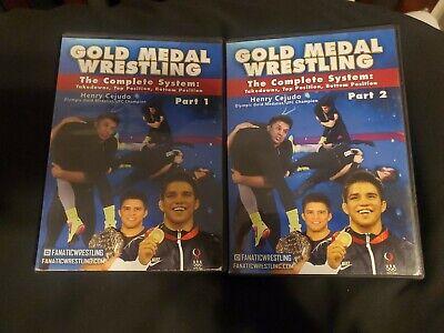 Henry Cejudo Gold Medal Wrestling Dvd Bjj Grappling Mma Jiu Jitsu