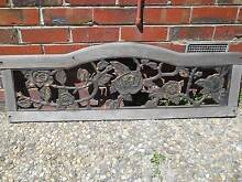 cast iron outdoor bench seat Brighton Bayside Area Preview