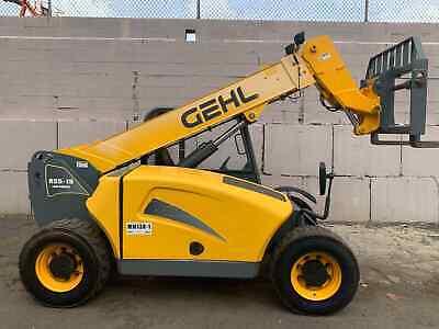 2007 Gehl Rs5-19 5500 Lb. Telescopic Handler Forklift Diesel 4x4