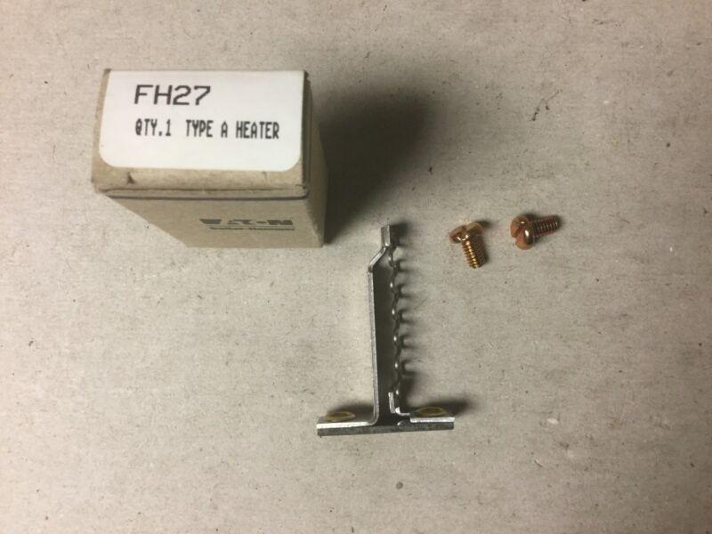 Cutler Hammer FH27 Overload Heater Coil NIB