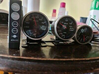 Subaru defi gauges