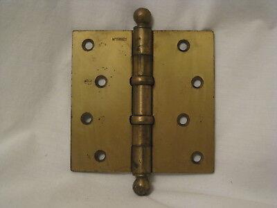 antique McKinney ball tip hinge  4.5