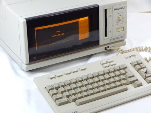 Magnavox VideoWriter 350 Word Processor Printer w/ Keyboard No Disk/Ink RARE VTG