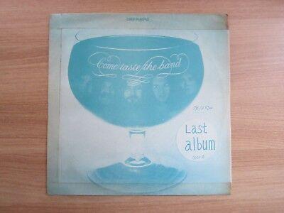 Deep Purple – Come Taste The Band Korea Blue Cover Vinyl LP