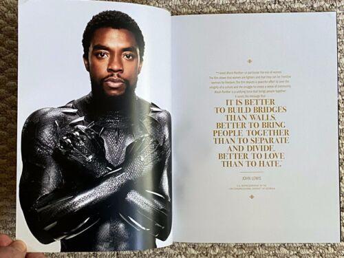 Chadwick Boseman BLACK PANTHER Movie memorabilia 72 page souvenir book FREE SHIP