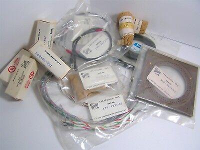 Lot Of A Dozen Vintage Nos Tektronix Parts And Assemblies Oscilloscope