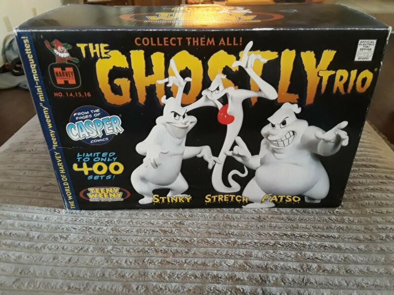 Harvey Comics The Ghostly Trio by Electric Tiki Teeny Weeny mini maquettes.
