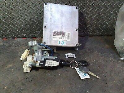 TOYOTA YARIS 1.3 AUTO ECU ENGINE CONTROL UNIT IGNITION SWITCH & KEY 89661-52102