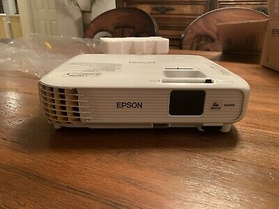 Epson Home Cinema 740HD 3LCD Projector Model: H746A