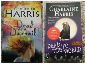 True Blood - Sookie Stackhouse- 10 novels by Charlaine Harris