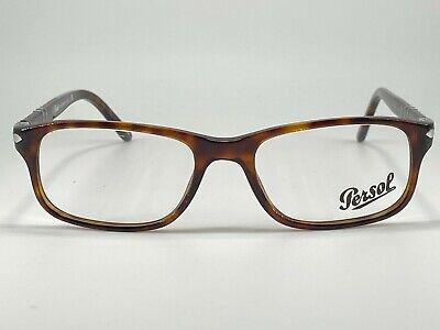 Persol 3005-V Men's Plastic Eyeglass Frame 24 Havana 51-18 Hand Made in (Persol Frames Men)