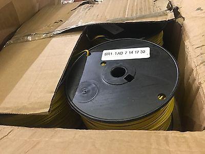2 20 Gauge Duplex Wire 9.1 Lb. Plastic Spools Yellow
