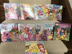 My Little Pony and Strawberry Shortcake books (lot of 8) for $10