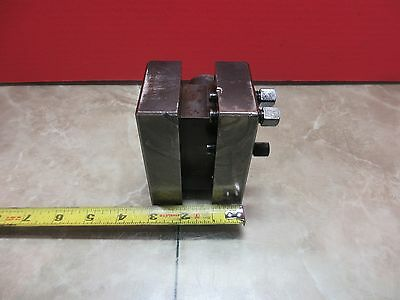 Ikegai Fx-30 Cnc Lathe 3 X 2 Turret Tool Tooling Holder Block