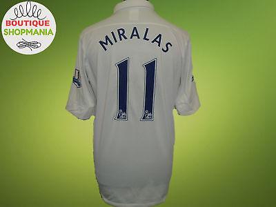 54927f14117 EVERTON Third 2012 13  11 MIRALAS (L) Patches Nike Football Shirt Jersey  Camisa