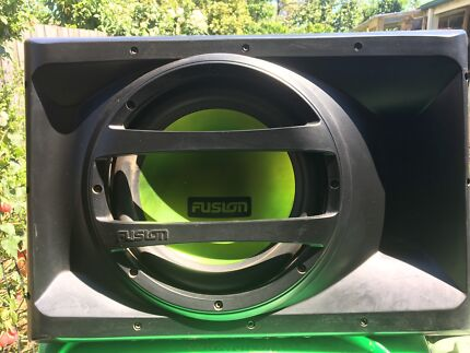 FUSION SUB WITH BUILT IN AMP.