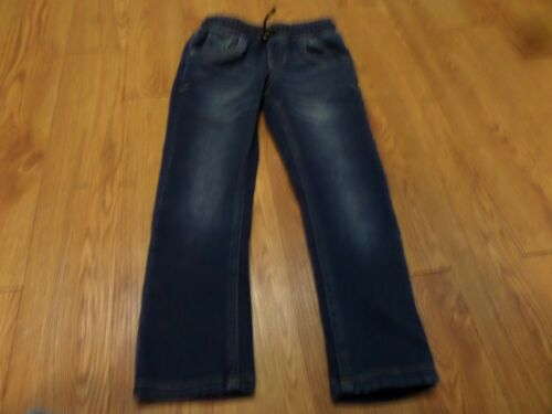 euc-Cat & Jack Size 4T Skinny Blue pull on Jeans drawstring