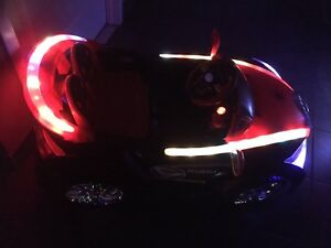 Kids led Light up remote control ride on
