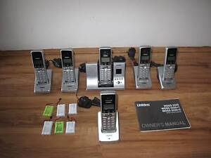 Uniden Cordless phone WDSS 5335 +5 with answering machine Belmont Belmont Area Preview