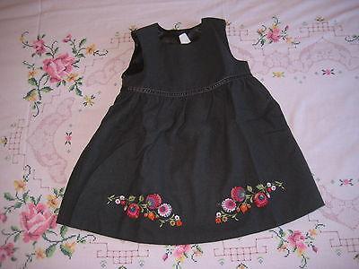 H&M schickes Kleid für festliche Anlässe mit Stickerei Größe 86