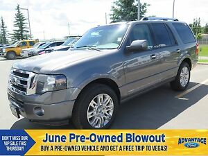 2012 Ford Expedition Limited Nav. Moonroof.