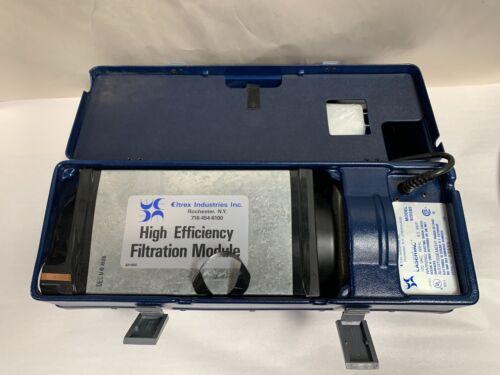 Vintage Portable Eltrex Laservac Model 920285 Copier Toner Vacuum Cleaner (A10)