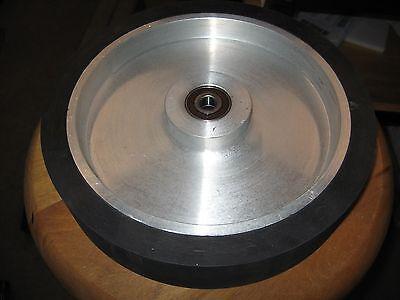 """2""""x72"""" Belt Sander/Grinder Rubber Contact Wheel, 250mm,(10"""") Knife Making Wheel"""