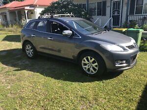Mazda CX-7 luxury sports turbo