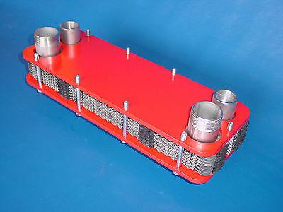 Schwimmbadwärmetauscher 47kW Solarwärmetauscher Pool Schwimmbad Wärmetauscher