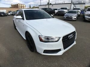 2015 Audi A4 Progressiv plus/S-LINE/QUATTRO/NAV/6 SPEED MANUAL