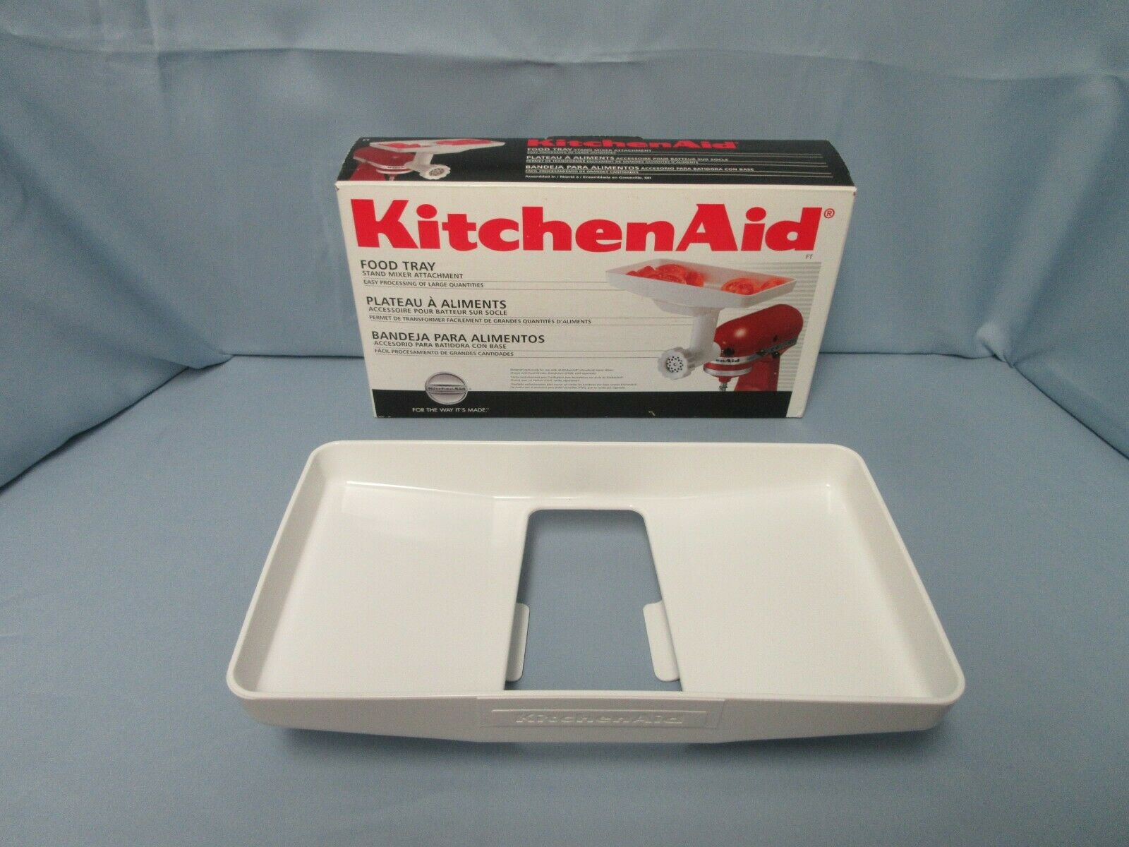 KitchenAid Stand Mixer Food Tray Attachment - Fits Food Grinder - $22.50