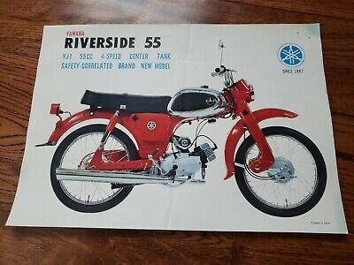 Vintage Yamaha Sales Brochure Advertisment for Riverside YJI 55cc