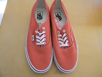 VANS Authentic Off the Wall Orange Sneakers   Size 11.5  Brand New NEW  NO  BOX