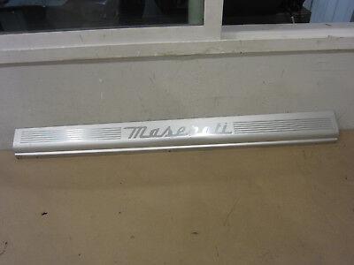 Maserati 4200 - LH Sill Plate / Under Door Trim - Part # 386100313