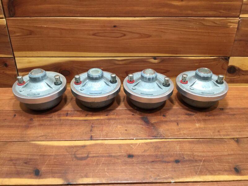 4 Vintage Bouyer Type 409 Horn Drivers - Bireflex - Made in France