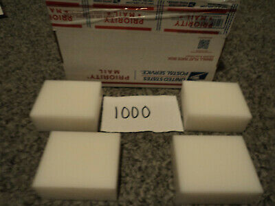 White Plastic Delrin Acetal Sheetblock Lot 4 Pieces Cnc Mill 1000