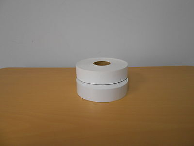 2 Rolls Plain White Price Gun Labels For Monarch 1130 Labeler 5000 Labels