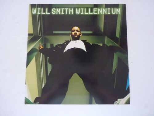 Will Smith Willennium LP Record Photo Flat 12x12 Poster
