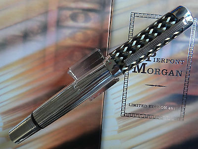 MONTBLANC LIMITED EDITION J P MORGAN NEW IN BOX FINE PT WITH PAPERWORK 4797/4810