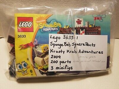Lego SpongeBob SquarePants 3833 Krusty Krab Adventures