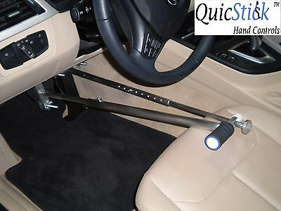 QuicStick Portable Hand Controls Kit For Disabled Drivers Car Equipment