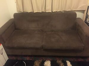 BROWN SOFA BED Cabramatta West Fairfield Area Preview