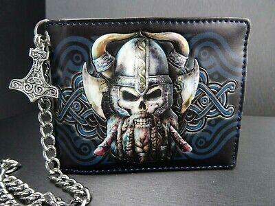 llet Geldbörse mit Kette Thors Hammer Odin Gothic Alchemy  (Geldbörse Mit Kette)