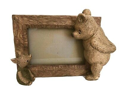 Classic Winnie The Pooh & Piglet Picture Frame By Charpente Disney 4 x 6 Photo.