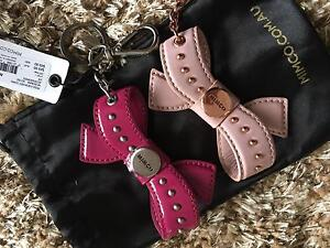 Mimco bow key rings pick Bowral Bowral Area Preview