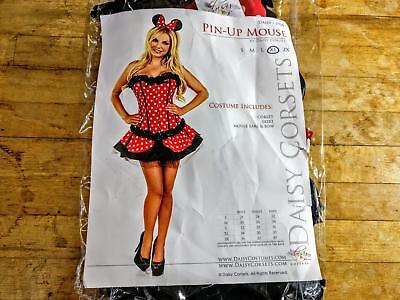 Mouse Costume Women (Daisy Corsets Women's Pin-up Mouse Costume XL (Missing Mouse)