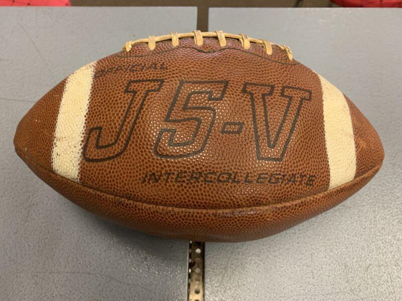 Vintage Spalding J5-V Official Intercollegiate Football