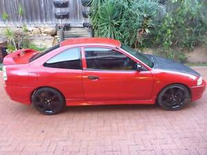 1998 Mitsubishi Lancer CE MR Red 4 Speed Automatic Coupe